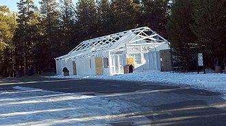 Tuolumne Meadows - Tuolumne Meadows store in winter