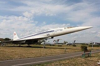 Überschallpassagierjet Tu-144