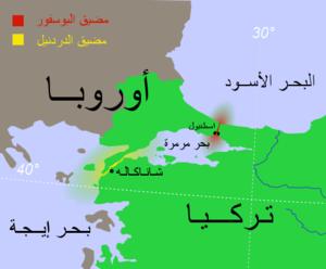 المضائق التركية ويكيبيديا