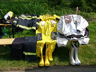 protective clothing worn by firefighters