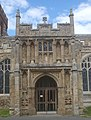 Two-storey south porch, St Mary's Church, Hitchin, Hertfordshire - geograph.org.uk - 1860206.jpg