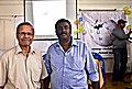Two ardent Malayalam Wikipedians.JPG