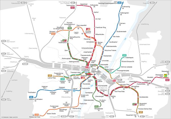 U-Bahn-Plan München
