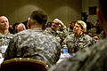 U.S. Army Gen. Ann E. Dunwoody, commanding Gen., of Army Materiel Command listens to remarks, at 3rd Annual Sexual Harassment-Sexual Assault Prevention Summit, in Arlington, Va., Mar 100330-A-VO565-005.jpg