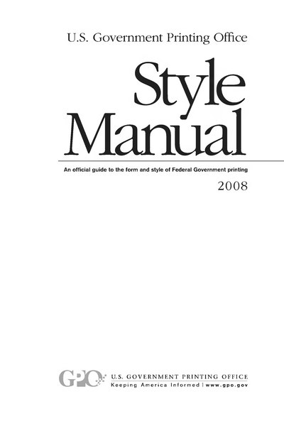 File:U.S. Government Printing Office Style Manual 2008.djvu