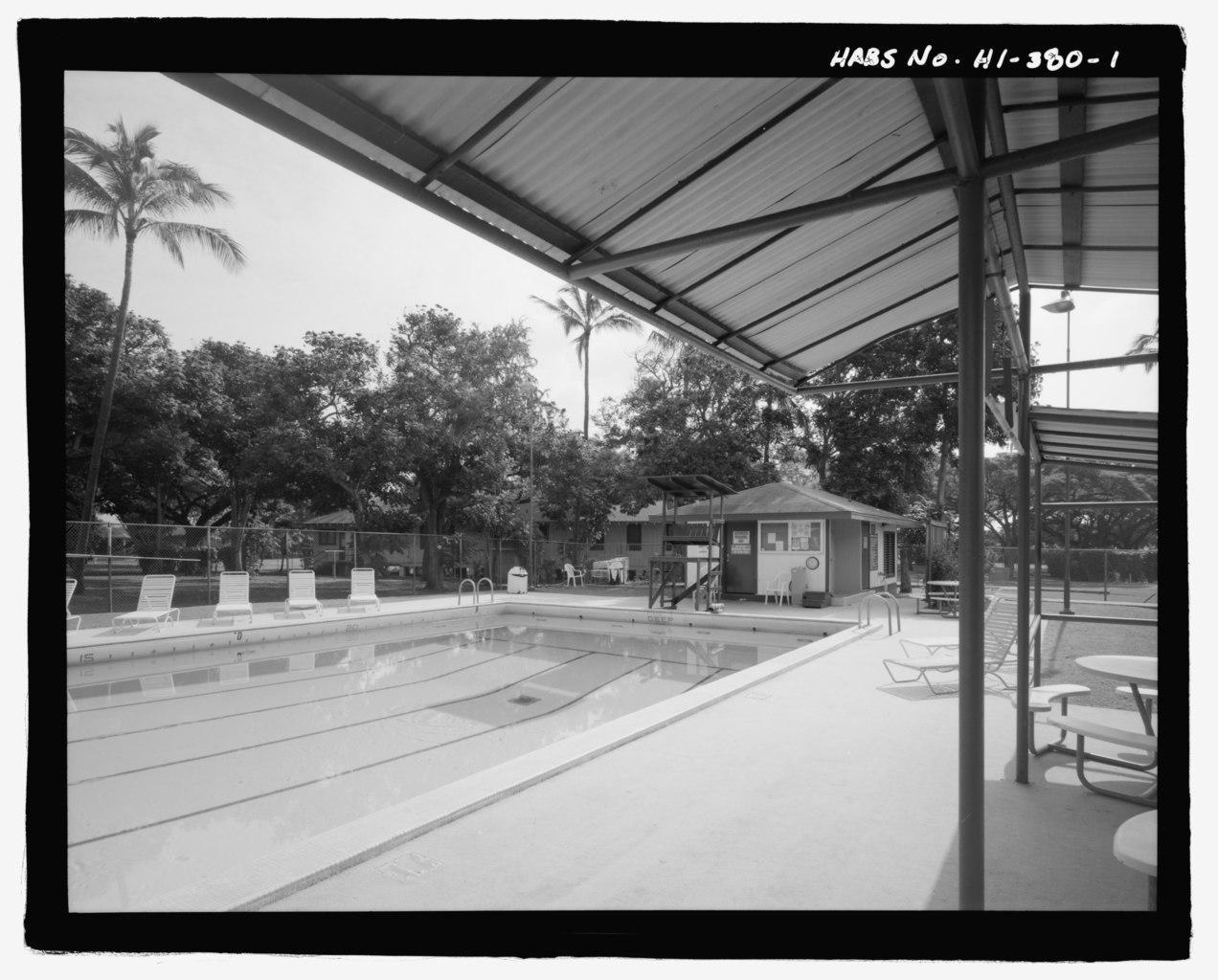 File U S Naval Base Pearl Harbor Officers 39 Swimming Pool Saratoga Boulevard Between