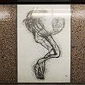 U2 Museumsquartier Kunst Bahnsteig 1 Zeichnung 03 Die Tanzende.jpg