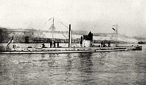 Atlantic U-boat campaign of World War I - German U-boat ''U-9''