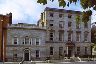 University College Dublin - Newman house, St Stephen's Green, Dublin. The original location of UCD.