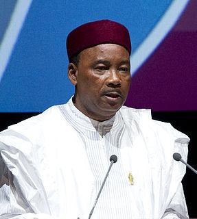 Mahamadou Issoufou President of Niger (2011-present)