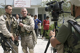 Oliver North - Oliver North's interview with Marine Maj. Chris E. Phelps, Iraq, 2005