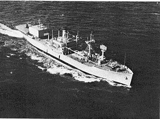USNS <i>Haiti Victory</i> (T-AK-238) built as a Greenville class cargo Victory ship