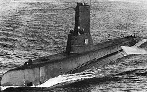 Tench-class submarine - Image: USS Tench