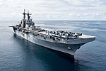 USS Kearsarge transits the Atlantic Ocean. (36209725834).jpg