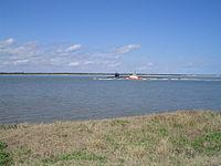 USS Maryland nuclear sub, St. Mary's River, FL.jpg