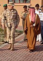US Navy 061128-N-0448N-002 U.S. Naval Forces Central Command and U.S. 5th Fleet Commander, Vice Adm. Patrick Walsh, tours Naval Support Activity Bahrain with Bahrain's Crown Prince, His Highness Shaikh Salman bin Hamad bi.jpg