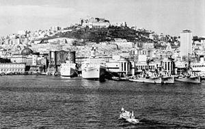 USS William R. Rush (DD-714) - William R. Rush at Naples in 1959