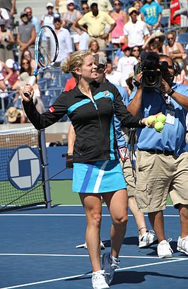 Winnares in het enkelspel: Kim Clijsters