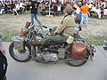 US military motorcycle during the VII Aircraft Picnic in Kraków (1).jpg