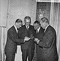 Uitreiking ANWB-prijzen te Den Haag , de winnaars van di jaar v.l.n.r. de heren , Bestanddeelnr 915-2336.jpg