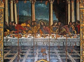 Castelnuovo Scrivia - Image: Ultima Cena Alessandro Berri, 1540