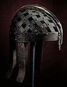 Colour photograph of the Ultuna helmet