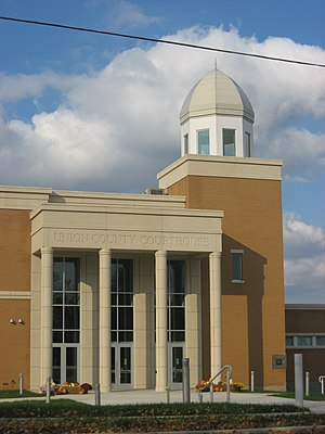 Union County, Illinois - Image: Union County Courthouse in Jonesboro