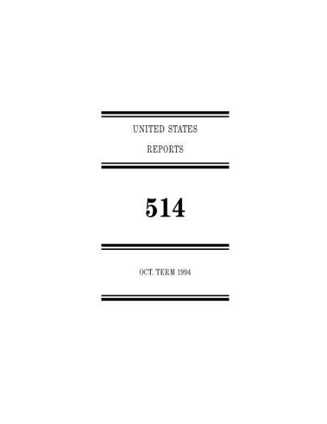 File:United States Reports, Volume 514.djvu