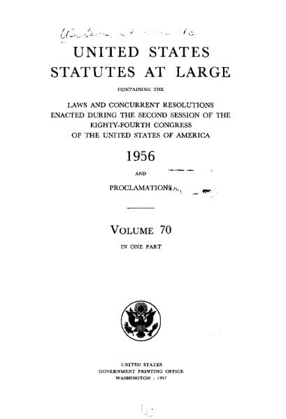File:United States Statutes at Large Volume 70.djvu