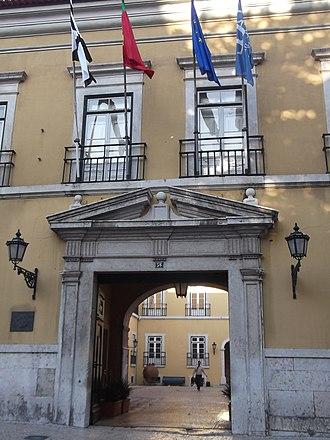 Universidade Autónoma de Lisboa - Image: Universidade Autonóma de Lisboa Luis de Camões