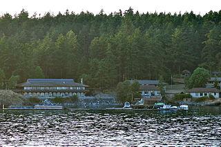 Friday Harbor Laboratories marine biology field station of the University of Washington
