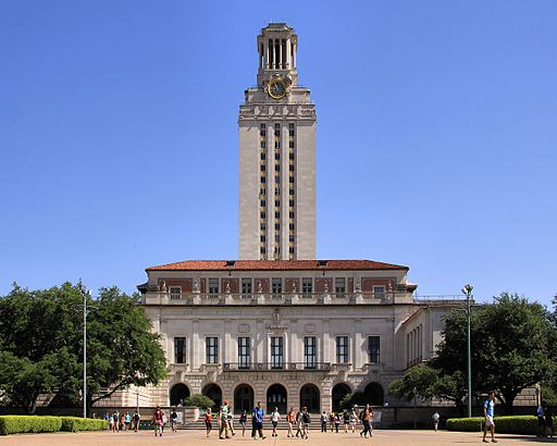 University of texas at austin main building 2014