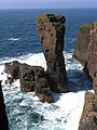 Unnamed Sea Stack Off Breigeo Head, Papa Stour (Big Isle of the Priests) - geograph.org.uk - 798589.jpg