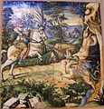 Urbino, patanazzi, san crescentino che uccide il drago.JPG