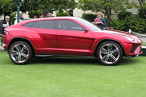 Lamborghini Urus - Concept at the 2012 Pebble Beach Concours d'Elegance