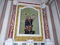Uscio-chiesa sant'ambrogio-statua.JPG