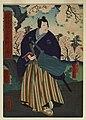 Utagawa Yoshitaki - The Actor Jitsukawa Enzaburo as a Samurai - Walters 9593.jpg