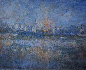 Vetheuil in the Fog