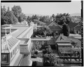 VIEW LOOKING SOUTH FROM TOP FLOOR - Winchester House, 525 South Winchester Boulevard, San Jose, Santa Clara County, CA HABS CAL,43-SANJOS,9-4.tif