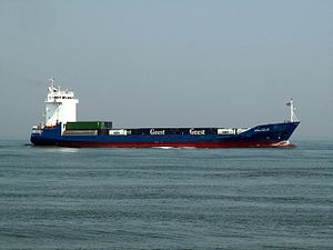 Valious approaching Port of Rotterdam 04-May-2006.jpg