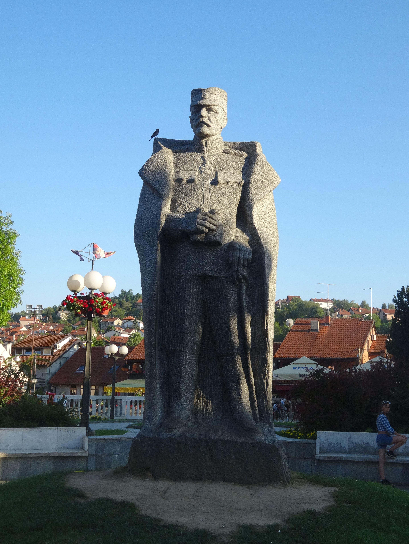 File Valjevo Spomenik Zivojinu Misicu 06 Jpg Wikimedia Commons
