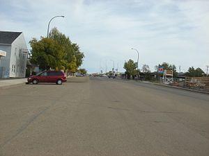 Valleyview, Alberta - Main Street