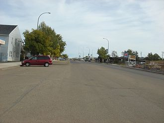 Valleyview, Alberta - Main Street