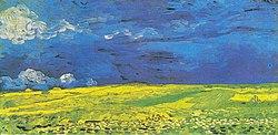 Vincent van Gogh: Wheatfield under Thunderclouds