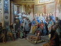 Varallo, Sacra monte, Cappella 15-Healing of the Lame 05.JPG