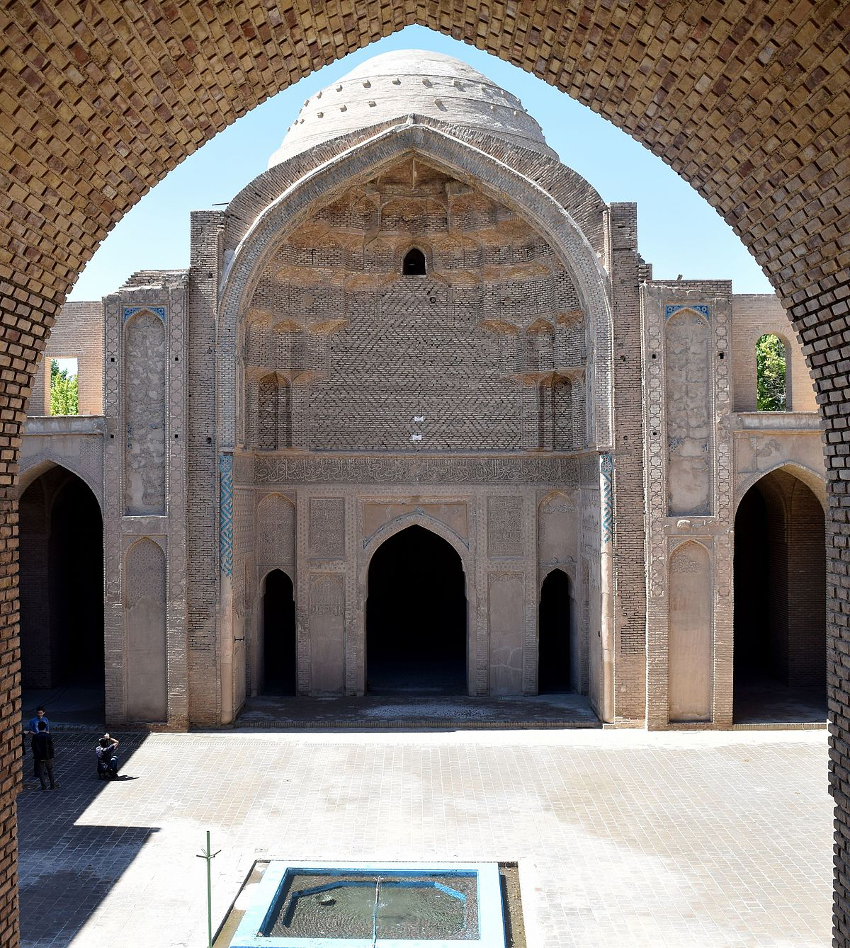jameh mosque of varamin
