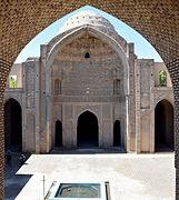Varamin mosque. courtyard and dome.jpg