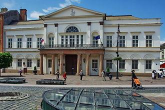 Old Town, Košice - Image: Vedecká knižnica