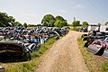 Vehicle reclamation yard at Holly Tree Farm - geograph.org.uk - 1330185.jpg