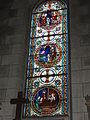Veigné (Indre-et-Loire) église, vitrail 04.JPG
